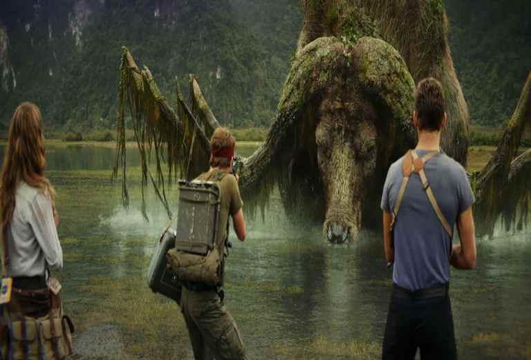 Cảnh đẹp ấn tượng trong phim Kong: Skull Island