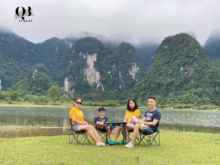 Được cùng bên nhau, nơi đó sẽ nhiều niềm vui - Hồ Yên Phú, Minh Hóa, Quảng Bình