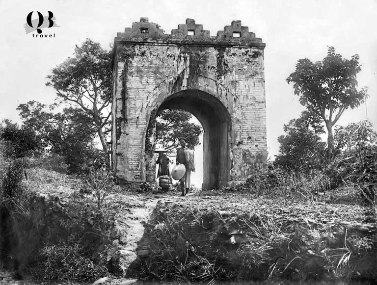 Hình ảnh hiếm hoi trong lịch sử được ghi lại tại Hoảnh Sơn Quan