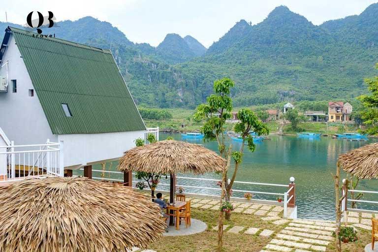 Một trong các homestay đẹp ở Quảng Bình