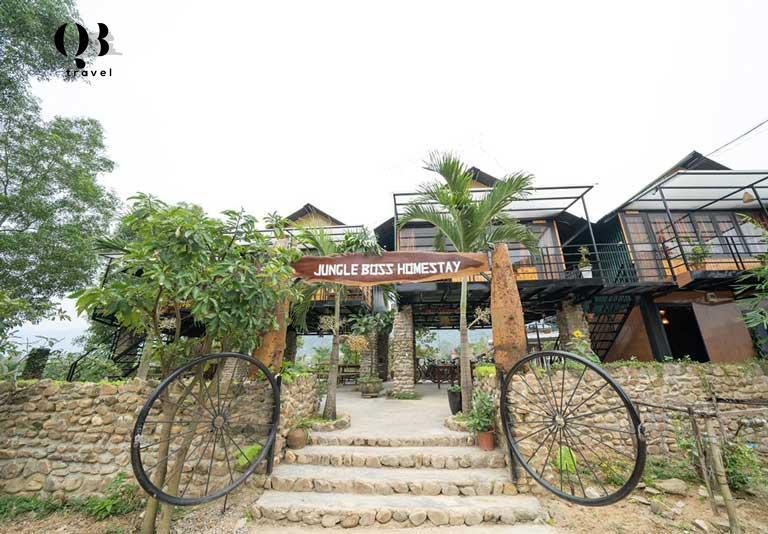 Phong Nha Homestay Quảng Bình đẹp ở Jungle Boss