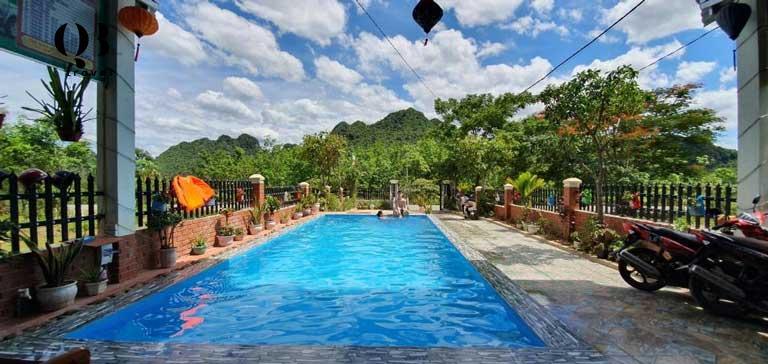 Thư giãn cùng với thiên nhiên ngay tại homestay Phong Nha