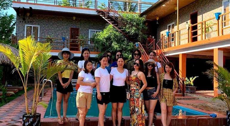 Một trong những homestay Phong Nha đẹp, thu hút nhiều du khách lưu trú
