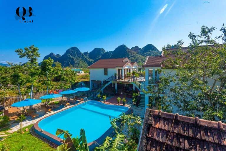 Homestay cực đẹp Quảng Bình