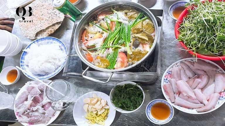 Lẩu cá khoai Quảng Bình - Món ăn đặc sản độc đáo ở Quảng Bình