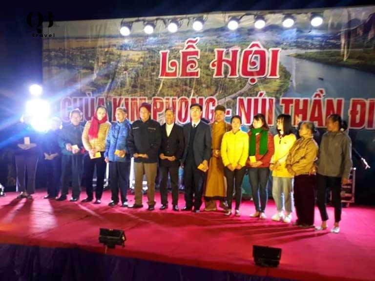 Lễ hội truyền thống tại chùa Kim Phong - Quảng Bình
