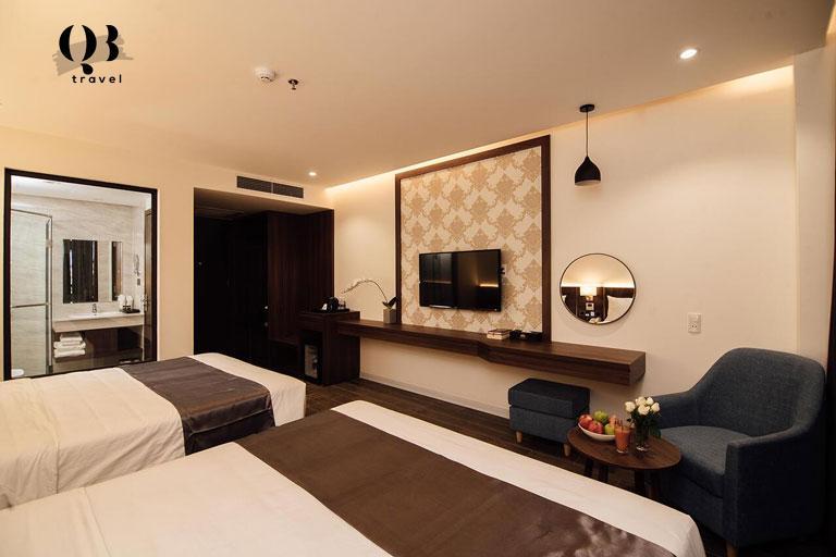 Lựa chọn khách sạn ở trung tâm thành phố tiện lợi để di chuyển đến nhiều nơi