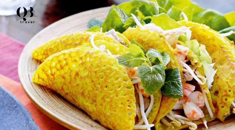 Món bánh xèo nổi tiếng Quảng Bình