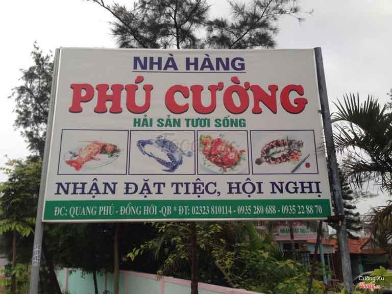 Nhà hàng Phú Cường mang lại không gian có diện tích rộng để tiếp đoàn du lịch, tổ chức tiệc,...