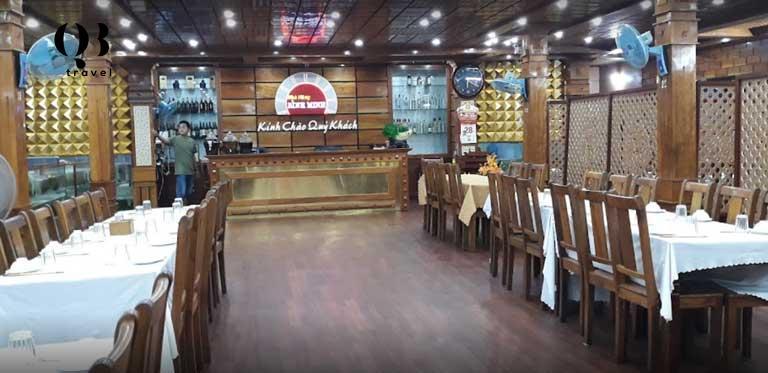 Nhà hàng nổi Bình Minh - Thoáng mát, thoãi mái ngồi trên sông thưởng thức những món hải sản tươi ngon