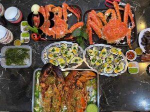 Hải sản Quảng Bình rất phong phú và tươi ngon