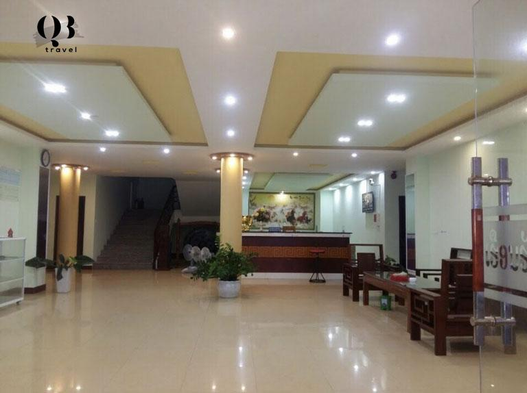 Phòng khách tại khách sạn Việt lào Đồng Hới