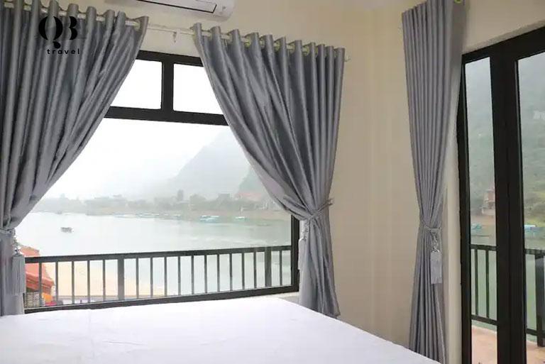 Không khí vào buổi sáng tại Coco Riverside Homestay ở Phong Nha