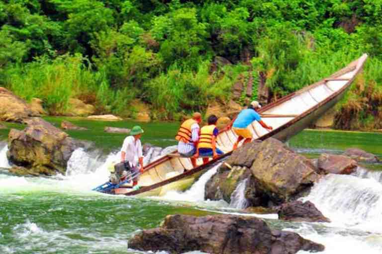 Phương tiện di chuyển tới thác Tam Lu