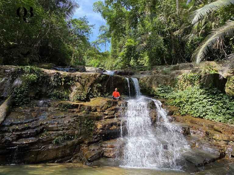 Khe Nước Trong, Động Châu - khu du lịch sinh thái hoang dã của Quảng Bình