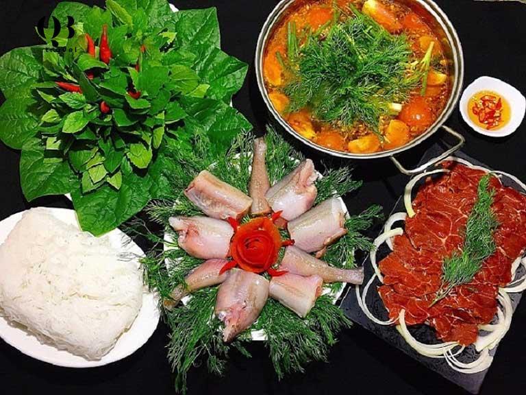 Món lẩu cá khoai - đặc sản Quảng Bình