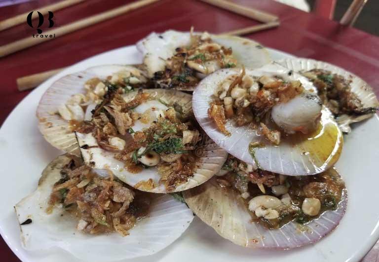 Lương Chinh là địa chỉ ăn hải sản ngon tại Quảng Bình