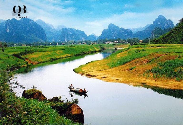 Vẻ đẹp của Quảng Bình vào mùa khô