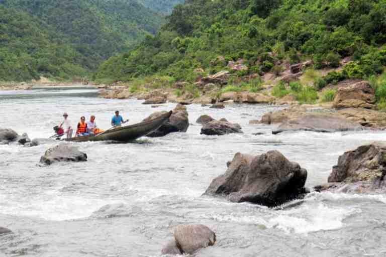 Sông Long Đại - Thác Tam Lu