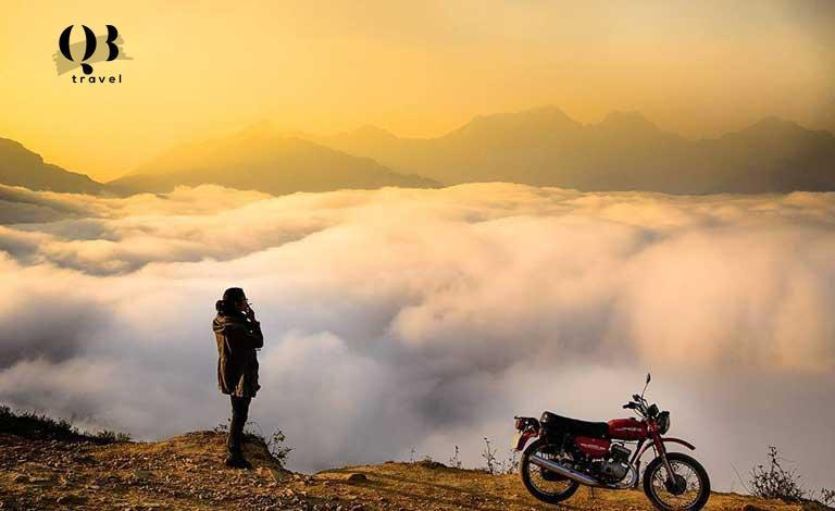 """""""Hương bồng mây khói"""" chỉ có thể cảm nhận khi du lịch bằng xe máy"""