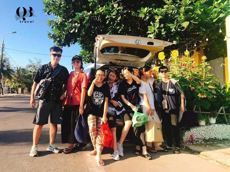 Xe du lịch Đèo Ngang