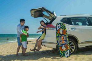 Thuê xe 7 chỗ là phương án tối ưu nhất cho các gia đình khi đi du lịch