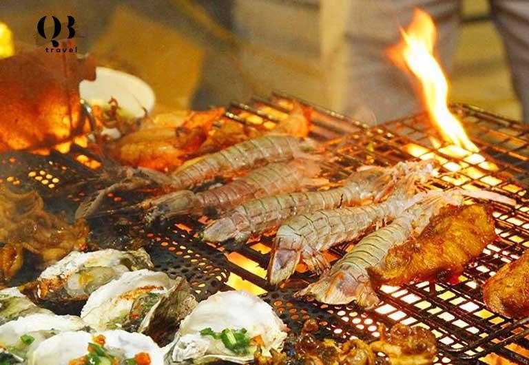 Thưởng thức hương vị BBQ tại Khe Nước Trong