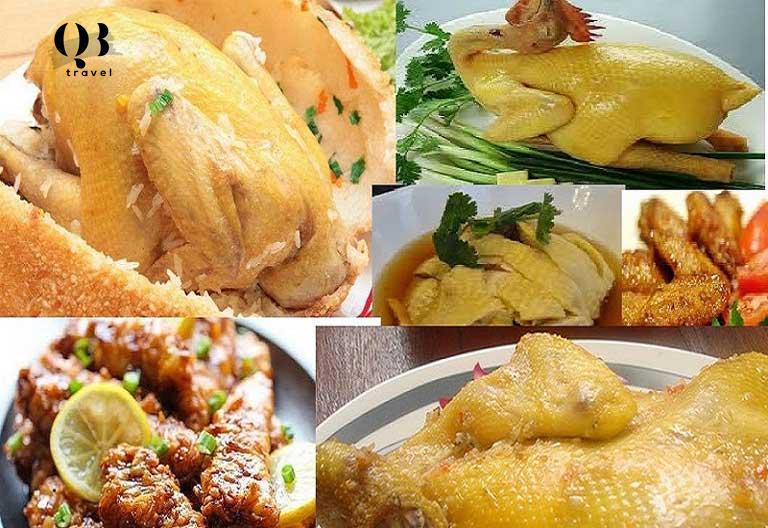 Các món ăn độc đáo ở nhà hàng Gà Đồi