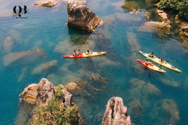 Tham gia tour mức độ 2 cùng Oxalis du khách được trải nghiệm du lịch khám phá kết hợp hoạt động vui chơi nhẹ nhàng