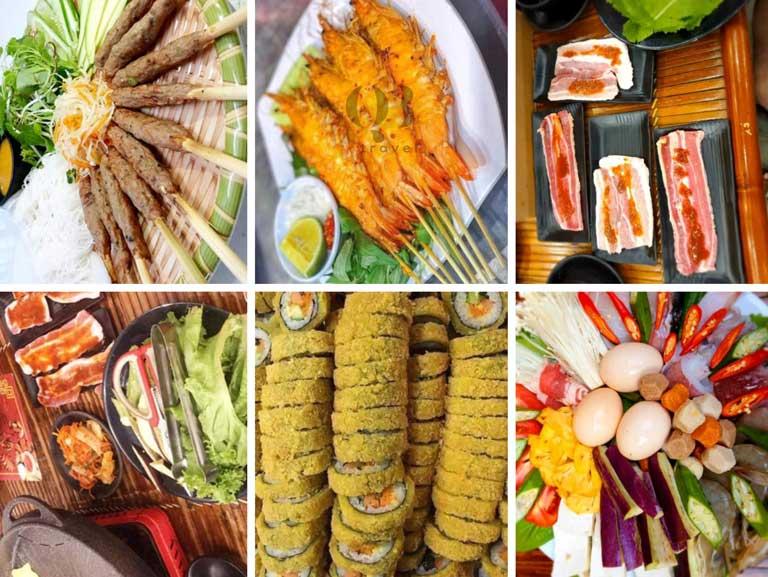 Quán Xưa còn có nhiều loại lẩu, đồ nướng, ăn vặt,... đa dạng