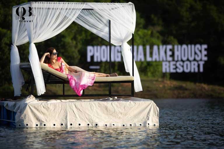Check-in tại Phong Nha Lake House Resort khá sang chảnh