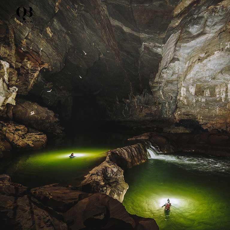 Hệ thống hang động Tú Làn mở ra nhiều hang động đẹp mãn nhãn