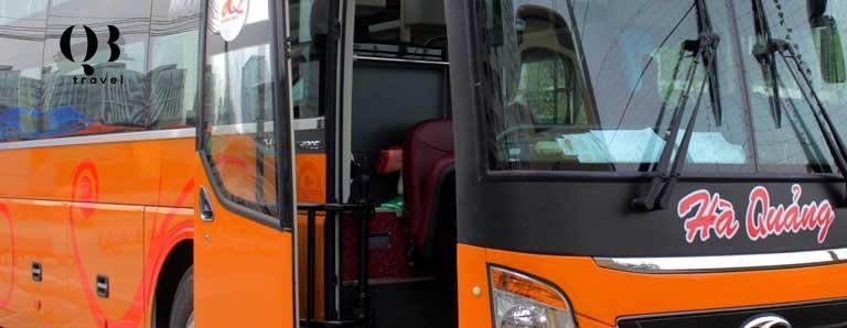 Nhà xe Hà Quảng Travel cũng là một hãng xe phổ biến được nhiều người lựa chọn