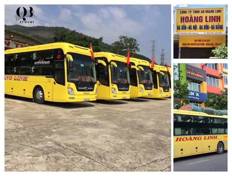 Nhà xe có cực nhiều điểm đón/trả khách tại Quảng Bình