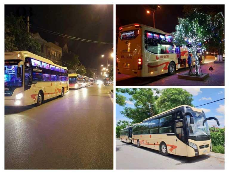 Nhà xe Hưng Long có nhiều chuyến trong ngày và số lượng xe nhất Quảng Bình