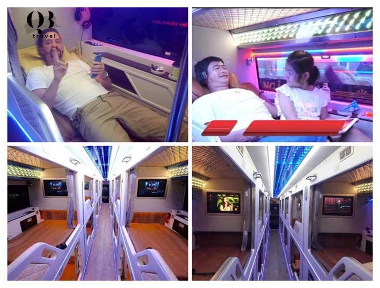 Là hãng limousine với các phòng xe VIP thu hút khách