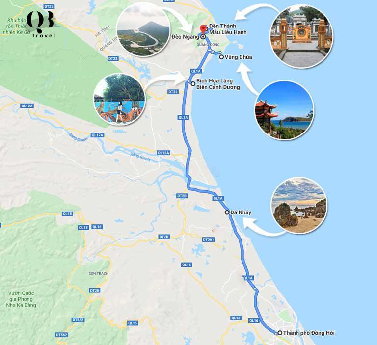 Những điểm du lịch theo tuyến phía Bắc Quảng Bình