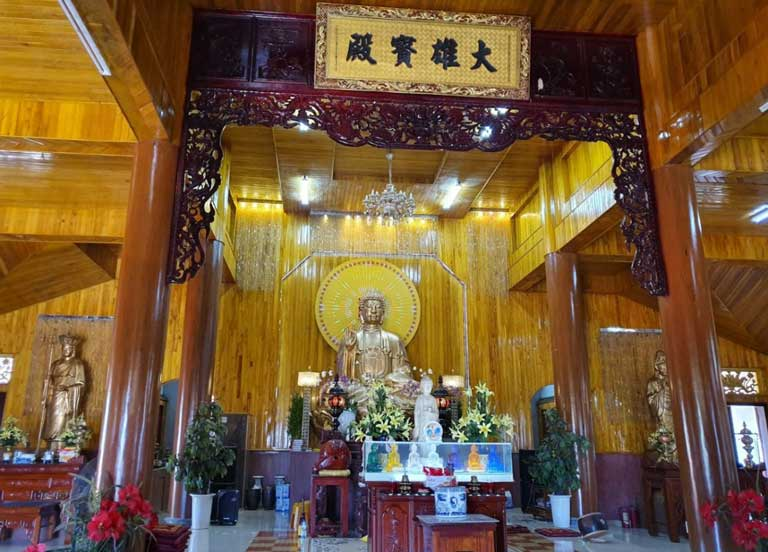 Nơi linh thiêng, thanh tịnh trong chùa
