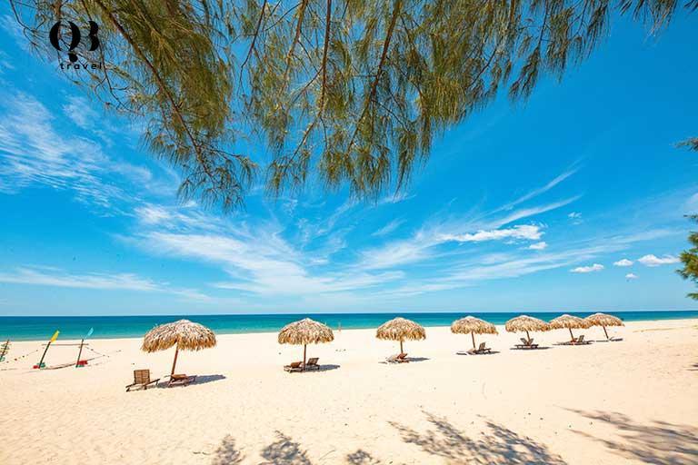 Biển Bảo Ninh - thiên đường Maldives tại Việt Nam