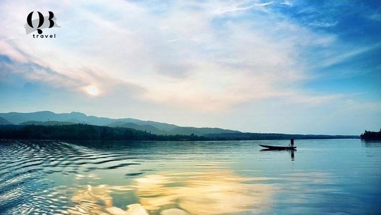 Biển Nhật Lệ - nơi ánh hoàng hôn tỏa sáng nhất