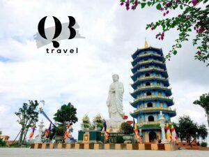 Bảo tháp A Di Đà và thánh tượng A Di Đà