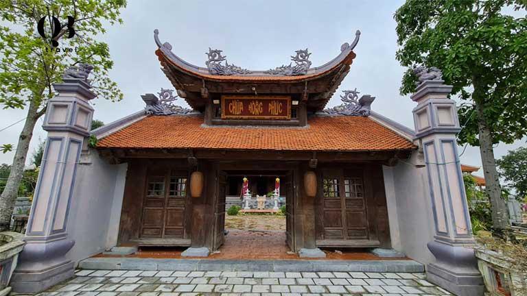 Ngôi chùa Hoằng Phúc Quảng Bình sau nhiều lần được trùng tu