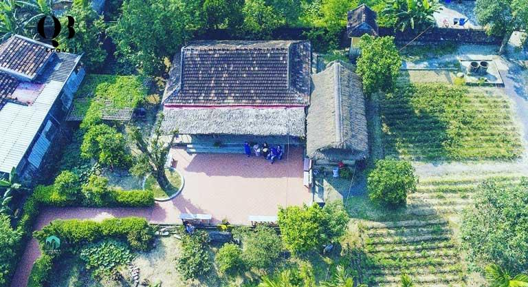 Toàn cảnh Nhà lưu niệm đại tướng Võ Nguyên Giáp tại Lệ Thủy