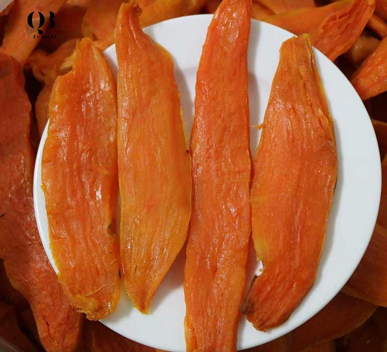 Đến Quảng Bình nhớ thưởng thức khoai deo nhé
