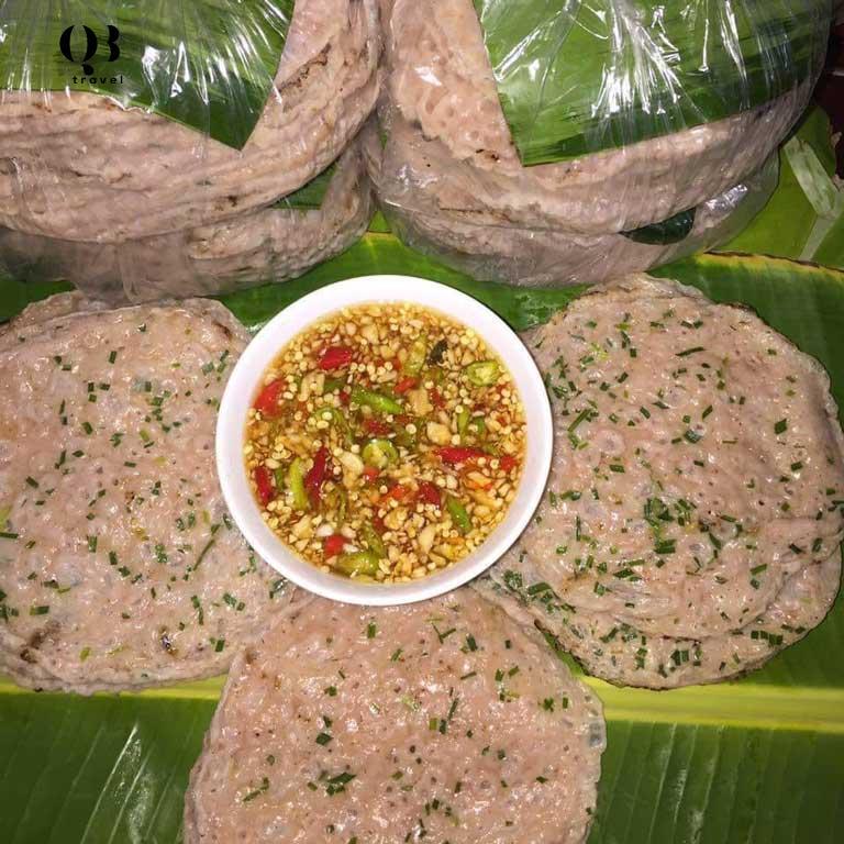 Bánh xèo gạo Lứt