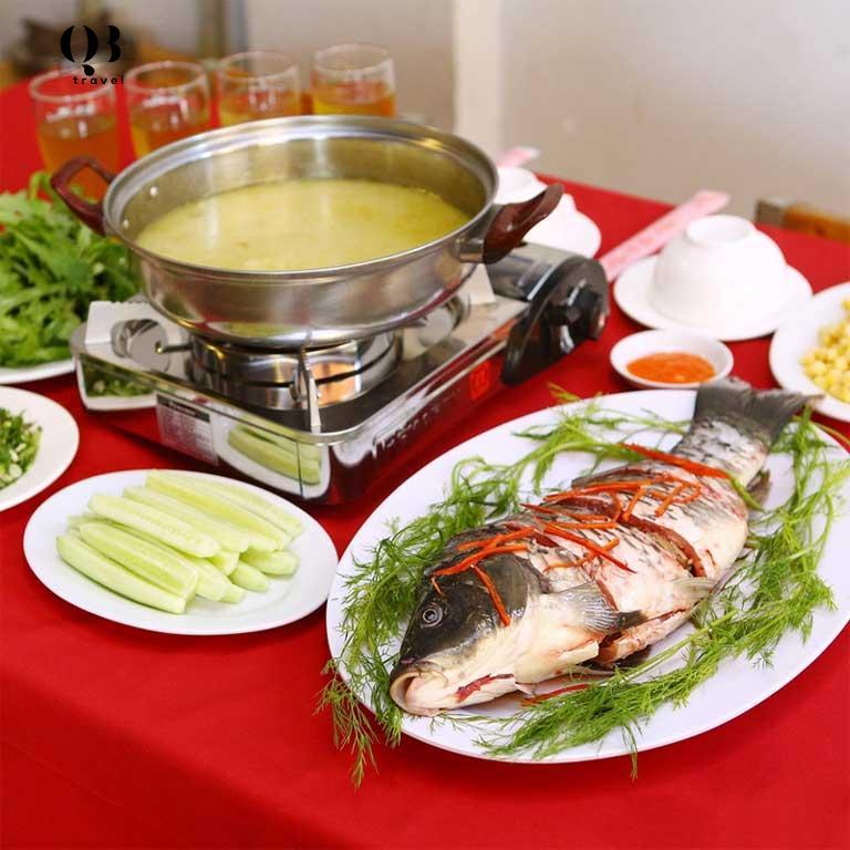 Lẩu cá trắm - món ăn thơm ngon bổ dưỡng