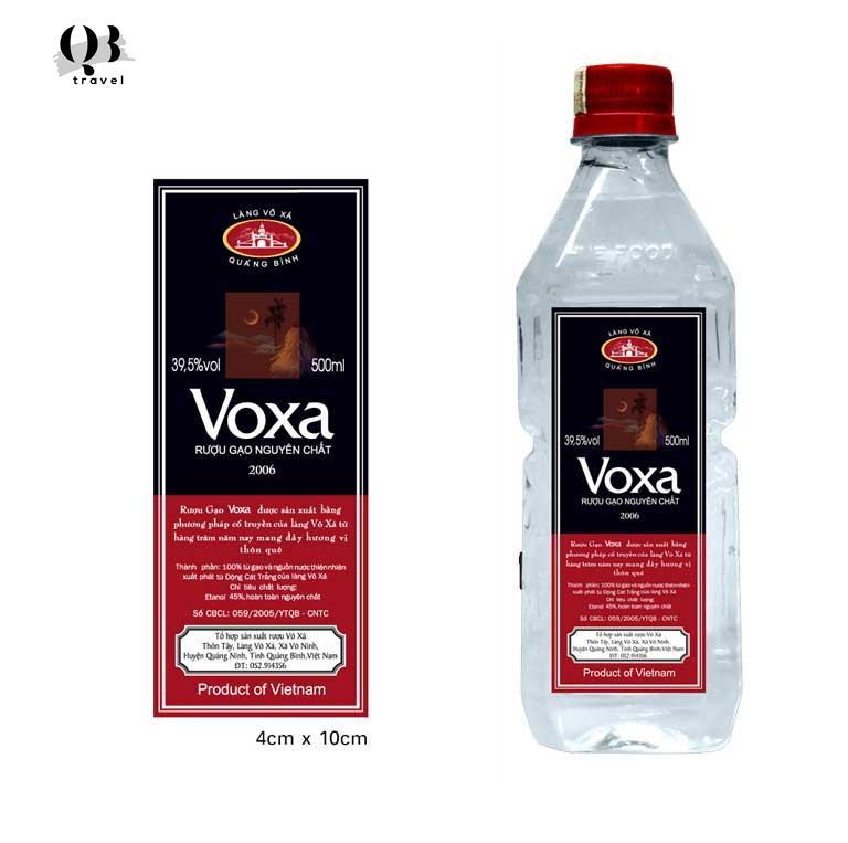 Rượu Võ Xá nổi tiếng Quảng Bình
