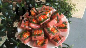 Cay nồng với nem chua ớt Quảng Bình