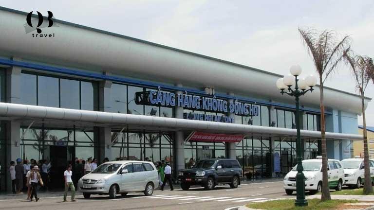 Nơi dừng chân sân bay Đồng Hới - Quảng Bình