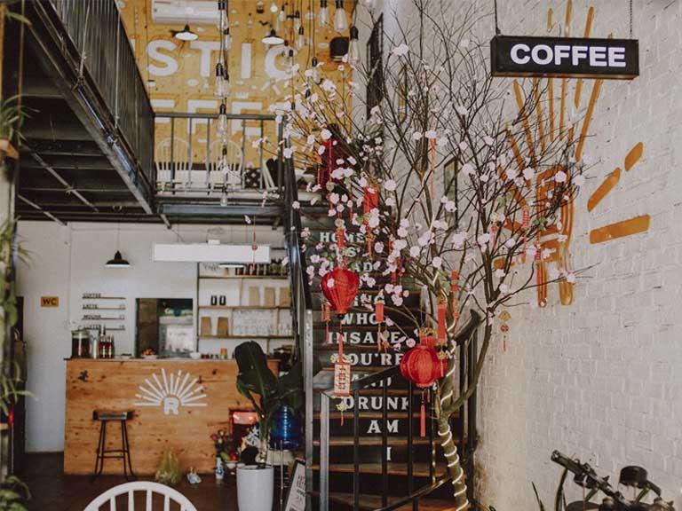 Một góc view của The Rustic Coffee - Quảng Bình